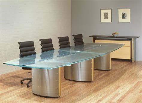 glass top conference table executive conference tables custom glass conference