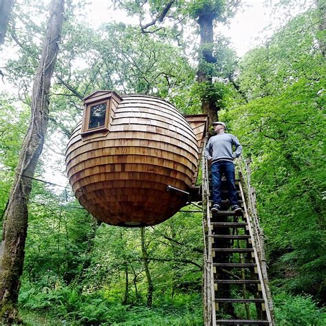 coolest treehouses tree mendous a weekend in the coolest treehouse in