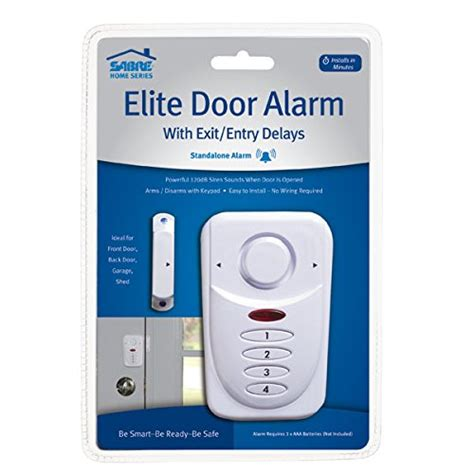 sabre wireless elite home and commercial door security