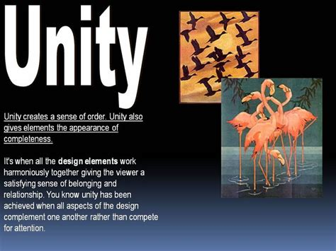 unity pattern definition principles of art unity elements and principles