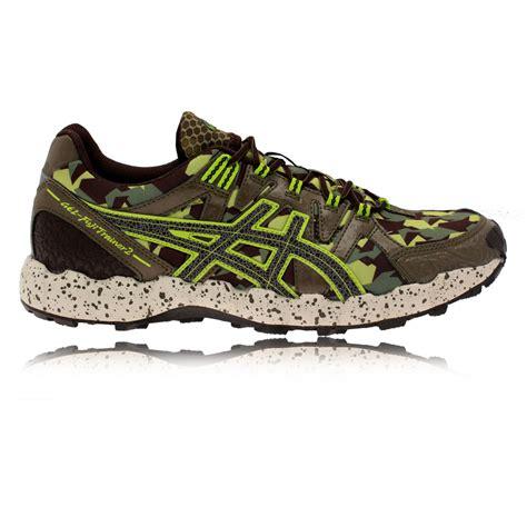 Asics Most Cushioned Shoe Asics Gel Fujitrainer 2 Mens Green Cushioned Light Trail