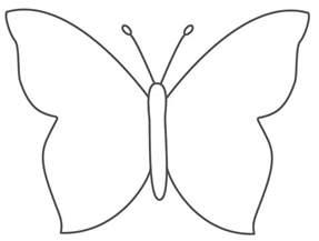 tekening vlinder google zoeken knutsels pinterest