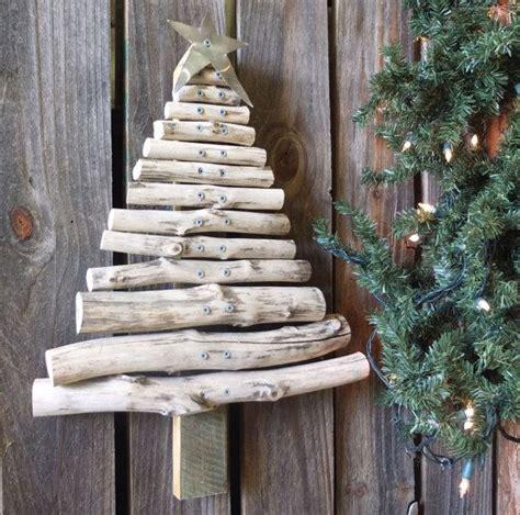rustic wood christmas tree handmade from reclaimed wood