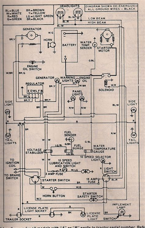 ford 3000 voltage regulator schematic ford 3600 voltage