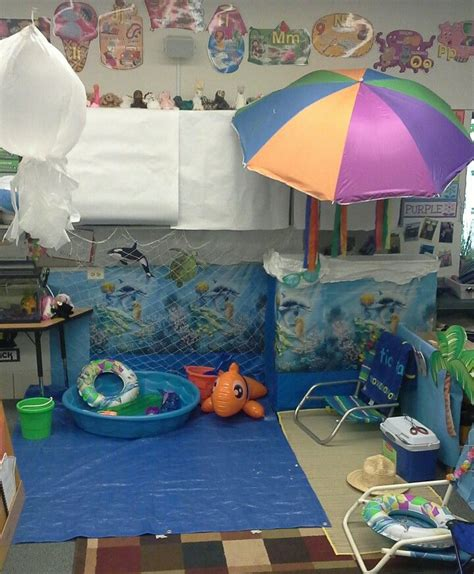 theme center themes preschool beach ocean dramatic play area preschool
