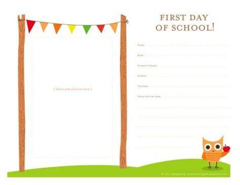 day of school template day of school memorable alpha