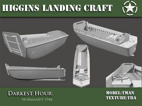 Free Rc Plans higgins landing craft wip image darkest hour europe 44