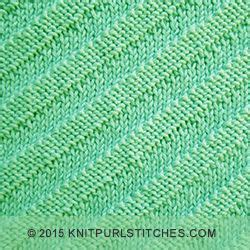 knitting stitches that lie flat diagonal textured pattern simple knit and purl