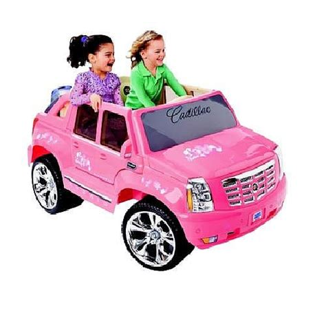 How Much Are Cadillac Converters Worth by Fisher Price Power Wheels Cadillac Escalade Pink