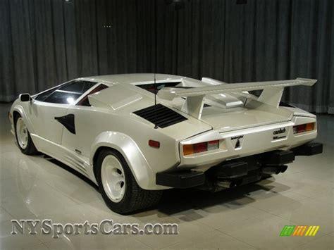 White Lamborghini Countach For Sale 1988 Lamborghini Countach 5000 Quattrovalvole In White
