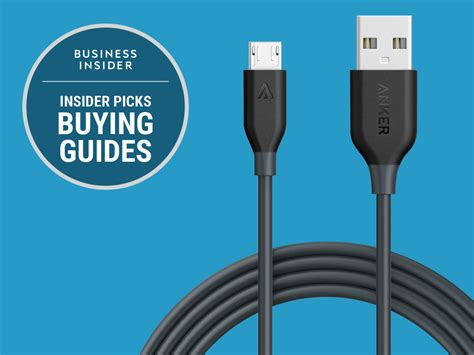 micro usb cable best buy the best micro usb cables you can buy business insider