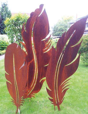 Garten Dekoration Rost by Gartendekoration Rost Quot Feder 1 Quot Zierelemente