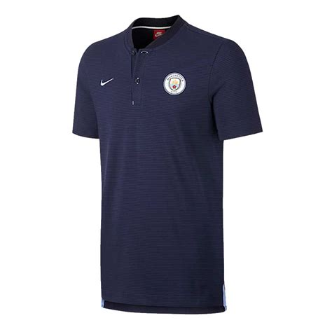 Polo Shirt Manchester City P02 city 2017 2018 authentic grand slam polo shirt obsidian 867823 453 41 86 teamzo