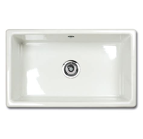 Ceramic Inset Sink by Shaws Classic Inset 800 Ceramic Sink Appliance House