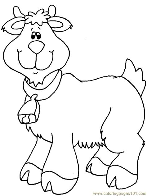 free coloring pages of goats free coloring pages of goat of animation