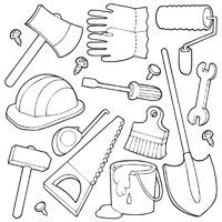 Construction Tools 187 Coloring Pages 187 Surfnetkids