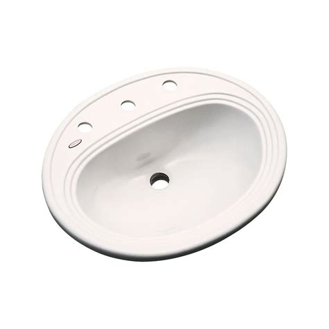 home depot drop in sink whitehaus collection drop in bathroom sink in pink wh1434p