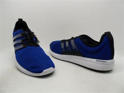 adidas s climacool leap running shoe royal black white size 14 nwob ebay