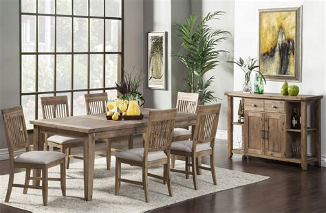 aspen dining room set aspen extendable dining room set 2524558 alpine