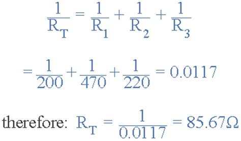 resistors in parallel equation how to calculate total resistance of resistors connected in parallel