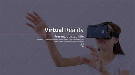 powerpoint templates for virtual reality virtual reality wide ppt goodpello