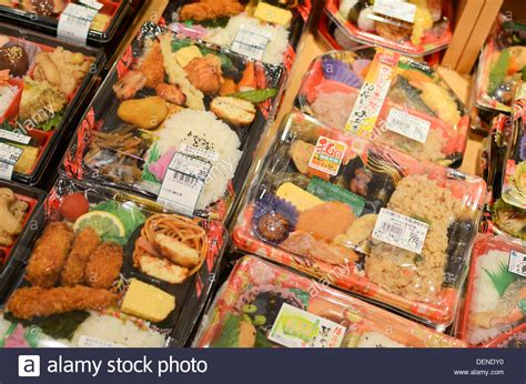 bento box for sale japanese bento lunches for sale in a supermarket in japan