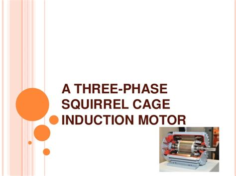 three phase induction motor ppt pdf three phase induction motor ppt pdf 28 images three phase induction motor lecture in 28