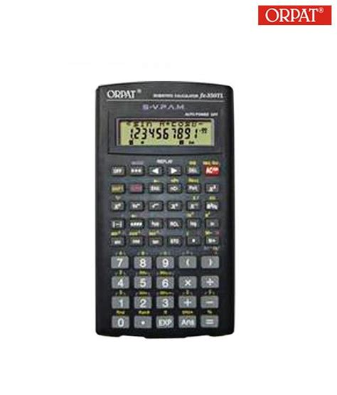 orpat fx 350tl scientific calculator buy at best
