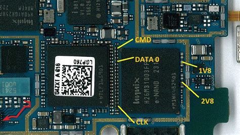 mobile isp mobile forensics direct emmc isp pinout direct emmc