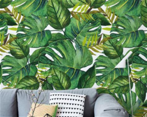 banana leaf wallpaper etsy banana leaf wallpaper etsy