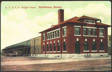 hutchinson kansas 1908 atchison topeka santa fe