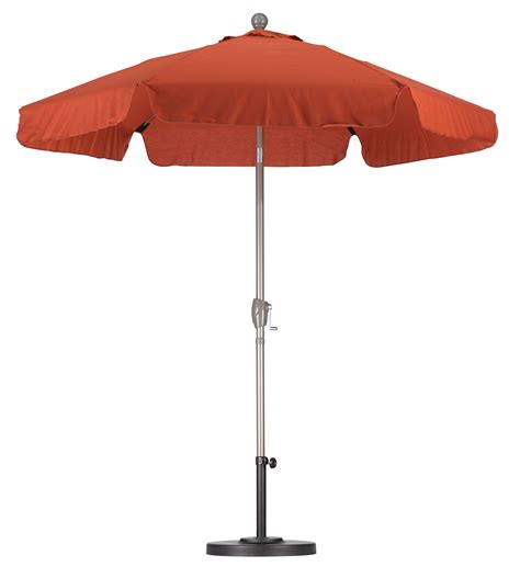 patio market umbrellas sunline 9 wood market umbrella