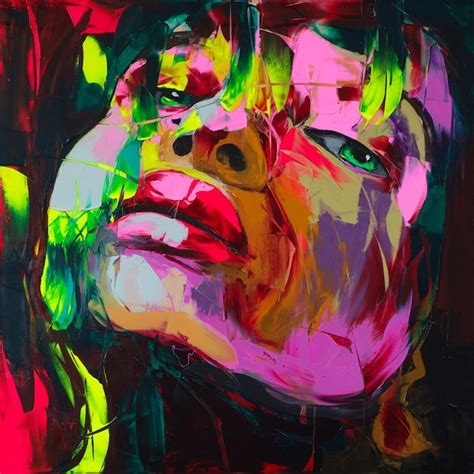 the of acrylic painting expressive painting techniques for beginners books new explosive knife paintings by fran 231 oise nielly my