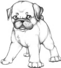 Pug Puppy Coloring Pages coloring style and folk on