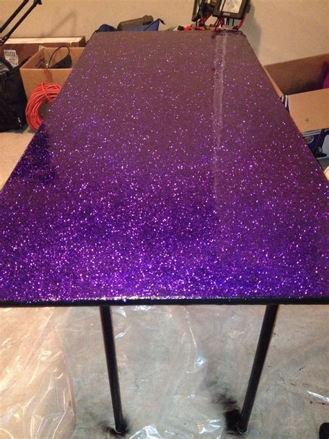 Upcycled an old table for my craft room. Used modge podge