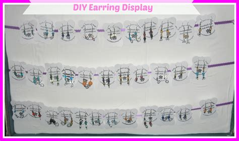 how to make custom earring cards how to make your own earring display cards for cheap diy