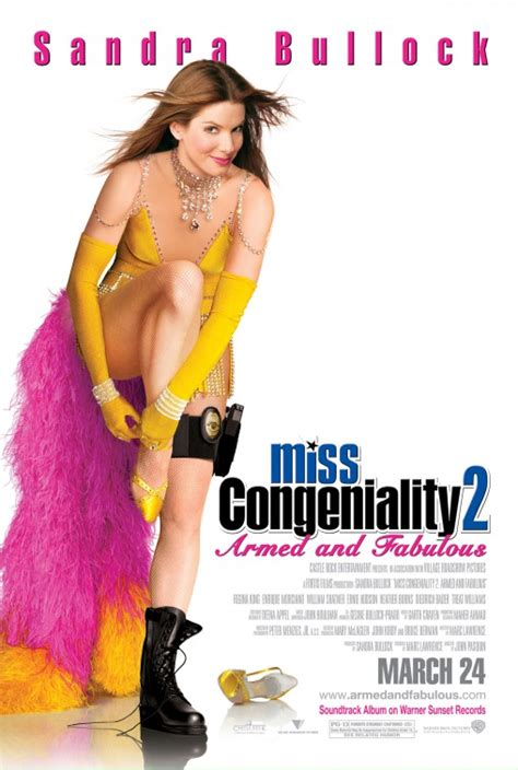 Armed And Fabulous by Miss Congeniality 2 Armed And Fabulous Poster 2