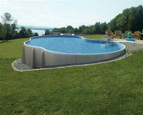 Backyard Pool Budget Best 25 Above Ground Pool Ideas On Swimming