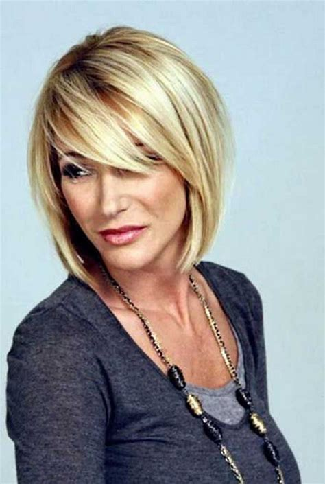 short hairstyles for oval faces 40 years old short blonde hairstyles 2016