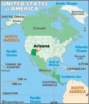 grand in world map where is az arizona map worldatlas
