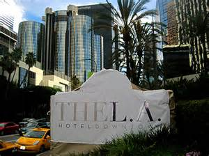 downtown ta hotels the l a hotel downtown to become hyatt regency los