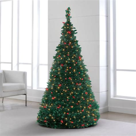 pre lit pull up trees at brookstone buy now