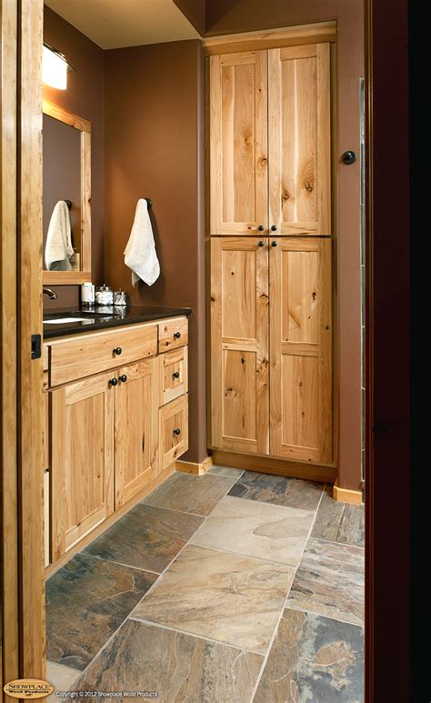 wall cabinets on floor rustic hickory bathroom vanity cabinets rustic hickory