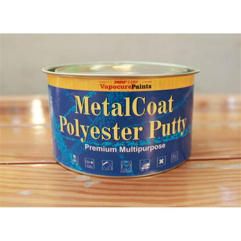 Polyester Putty Alpa 1klg mrf metal coat polyester putty filler buy in india