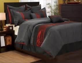 grey comforter sets king nanshing corell comforter set bed in a bag 7