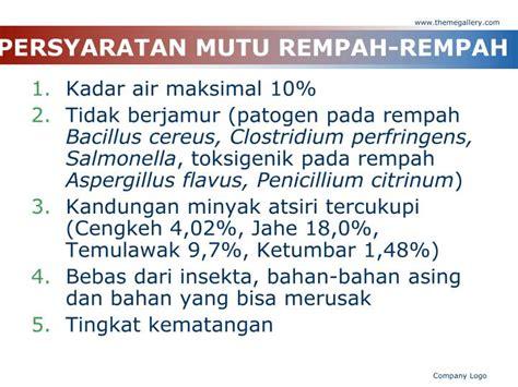 Minyak Atsiri Temulawak ppt tp rempah dan minyak atsiri powerpoint presentation id 2124411