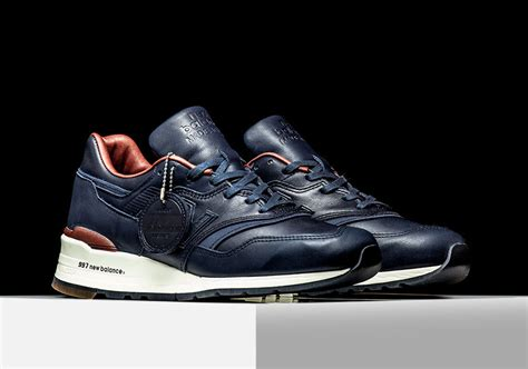 new balance 810 premium quality new balance 997 bespoke horween leather sneakernews