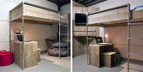 futon selber bauen hochbett selber bauen 2 m 246 bel aus rohren