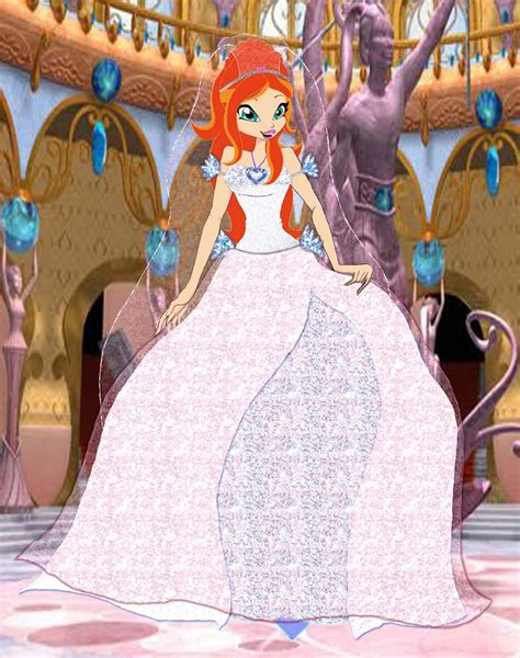 winx bloom and sky wedding bloom s wedding dress by winxesther on deviantart