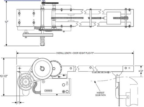 Overhead Diagram Exle Overhead Free Engine Image For Overhead Door Operator Parts